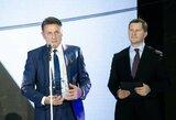 V.Chomičiui – jam pačiam netikėtas Lietuvos krepšinio lygos apdovanojimas už džentelmeniškumą