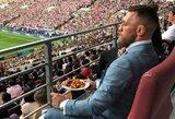 V.Putinas stebėti pasaulio čempionato finalo pakvietė ir UFC žvaigždę C.McGregorą
