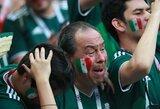 Už sirgalių elgesį Meksika sulaukė 10 tūkst. dolerių baudos