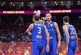 Italai pirmąjį kėlinį prieš Filipinus laimėjo 29 taškų persvara