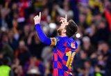 """L.Messi kritiškai įvertino """"Barcelonos"""" žaidimą"""