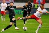 """""""Eintracht"""" ir """"RB Leipzig"""" akistatoje užfiksuotos lygiosios"""