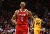 """Įspūdingas paskutinis kėlinys ir 14-oji """"Rockets"""" pergalė iš eilės"""