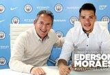 """Oficialu: """"Man City"""" pristatė 40 mln. eurų kainavusį vartininką"""