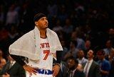 """C.Anthony nustebo """"Knicks"""" namų arenoje išgirdęs """"Heat"""" palaikymo šūksnius"""