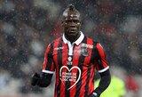 """""""Nice"""" strategas P.Vieira ragina M.Balotelli apsispręsti dėl savo ateities"""