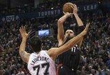 D.DeRozanas gyrė J.Valančiūno gynybą prieš NBA žvaigždę