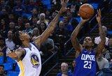 """Išskirtinį K.Duranto pasiekimą apkartino 50 taškų pelnęs """"Clippers"""" gynėjas"""