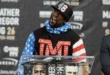 """Buvęs UFC čempionas: """"F.Mayweatherį MMA narve sudaužytų 14-mečiai vaikai"""""""