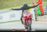 Išdalinęs trofėjus Estijoje, BMA motociklų čempionatas grįžta į Kauną