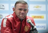 """W.Rooney: apie greičiausią pasaulio žmogų ir dvikovą su """"Barcelona"""""""
