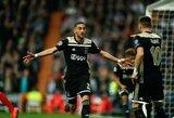 """Europa turės naujus karalius: fantastiškai žaidę """"Ajax"""" pažemino """"Real"""" ir išmetė iš Čempionų lygos"""