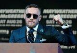 Gydytojų asociacija sunerimusi: C.McGregoras ringe gali būti rimtai sužeistas