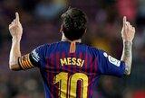 """""""Daily Record"""": L.Messi sutiko su 700mln. """"Manchester City"""" pasiūlymu: treji metai Anglijoje, dveji –JAV"""
