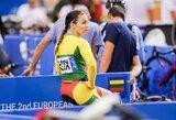 M.Marozaitė Europos čempionato sprinte liko per žingsnį nuo medalio