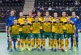 FIFA sprendimo laukianti Lietuvos futsal rinktinė balandį žais du kontrolinius mačus