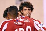 """""""Atletico"""" strategas D.Simeone: """"Nemanau,kad J.Felixas yra panašus į C.Ronaldo"""""""
