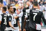 """""""Juventus"""" vietiniame čempionate į savo sąskaitą įsirašė penktąją pergalę"""