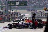 S.Vettelis alternatyvią strategiją pasirinko dėl greičio trūkumo