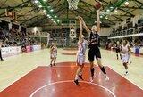 """""""Kibirkšties-VIČI-IKI"""" krepšininkės laimėjo pirmąsias Europos taurės rungtynes"""