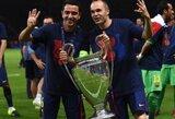 """A.Iniesta: """"Nėra užtektinai žodžių išreikšti pasididžiavimą šiuo klubu"""" (+ L.Suarezo komentaras)"""