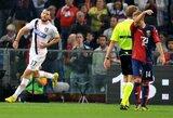 Šeštadienio vakaras Italijoje Genujos klubams susiklostė nesėkmingai