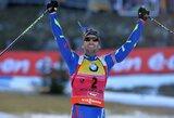 Pasaulio biatlono taurės etape Austrijoje – M.Fourcade'o ir L.Dahlmeier pergalės