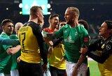 """E.B.Haalandas neišgelbėjo: """"Borussia"""" pasitraukė iš Vokietijos taurės turnyro"""