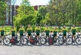 Lietuvoje - nauja dviračių komanda