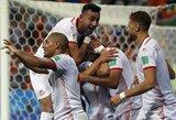 Rungtynėse dėl garbės – įvartį į savus vartus įsimušusios Tuniso rinktinės pergalė prieš Panamą