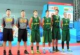 Visas rungtynes pirmavę Lietuvos krepšininkai pateko į Nandzingo jaunimo olimpiados pusfinalį