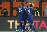 """""""Schalke"""" rungtynių pabaigoje išplėšė pergalę prieš """"Augsburg"""""""