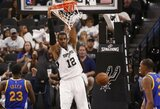 "L.Aldridge'as nenori likti ""Spurs"" komandoje"