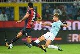 """Italijoje - netikėta """"Lazio"""" nesėkmė"""