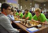 Lietuvos šachmatininkai Europos čempionate pasiekė pirmąją pergalę