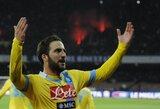 """""""Napoli"""" iškovojo paskutinį kelialapį į Italijos taurės pusfinalį"""