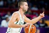 Lietuvos ir Latvijos draugiškose rungtynėse – krepšininkų asmeninės dovanos sirgaliams