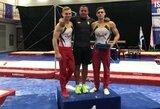 R.Tvorogalas triumfavo atvirajame Izraelio sportinės gimnastikos čempionate