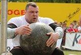 V.Lalas pergalingai pradėjo Baltijos galiūnų čempionatą