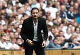 """F.Lampardas liko sužavėtas dviem naujoko C.Pulišičiaus įvarčiais, bet susirūpino """"Chelsea"""" gynyba"""