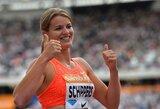 """Deimantinės lygos"" etape Londone – rekordinis sprinterės D.Schippers triumfas ir latvės pergalė"