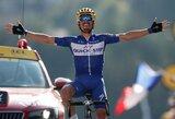 """Dešimtasis """"Tour de France"""" etapas: vietinio herojaus pergalė ir puikus esto pasirodymas"""