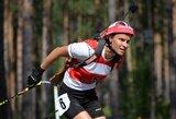 Vasaros biatlono pasaulio čempionato sprinto lenktynėse iš lietuvių geriausiai pasirodė K.Dombrovskis