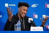 """Prie """"76ers"""" prisijungęs J.Butleris: """"Esu nuostabus žmogus ir komandos draugas"""""""