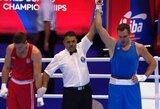T.Tamašauskas pergalingai pradėjo pasaulio bokso čempionatą
