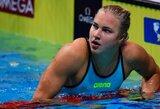 R.Meilutytė atskleidė, kokio rezultato tikėjosi pasaulio čempionato finale