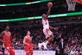 """21 taško pranašumą išbarsčiusi """"Rockets"""" pergalę išsaugojo"""