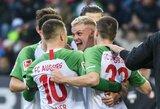 """""""Augsburg"""" nepaliko šansų """"Hertha"""" futbolininkams"""