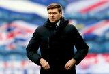 """S.Gerrardas įvertino galimybę pakeisti J.Kloppą """"Liverpool"""" klube"""