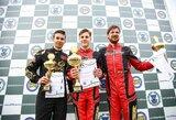 Įtemptas pirmąsias Lietuvos kartingo čempionato lenktynes laimėjo J.Jonušis